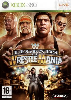 Jaquette de WWE Legends of Wrestlemania Xbox 360