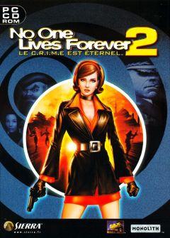 Jaquette de No One Lives Forever 2 : Le C.R.I.M.E est éternel PC