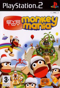 Jaquette de EyeToy : Monkey Mania PlayStation 2