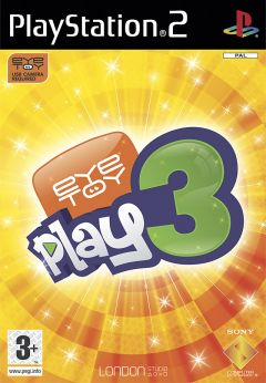 Jaquette de EyeToy : Play 3 PlayStation 2