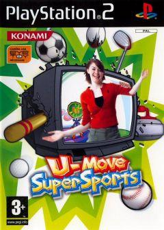 Jaquette de EyeToy : U-Move Supersports PlayStation 2