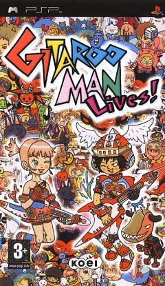 Jaquette de Gitaroo Man Lives ! PSP