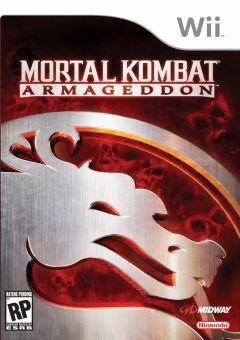 Jaquette de Mortal Kombat : Armageddon Wii