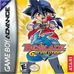 Jaquette de Beyblade G-Revolution Game Boy Advance