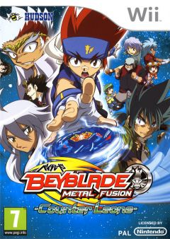 Jaquette de Beyblade Metal Fusion : Counter Leone Wii