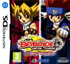 Jaquette de Metal Fight Beyblade : Cyber Pegasys DS
