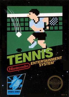 Jaquette de Tennis NES