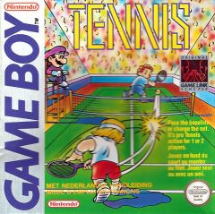 Jaquette de Tennis Game Boy