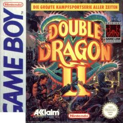 Jaquette de Double Dragon II : The Revenge Game Boy