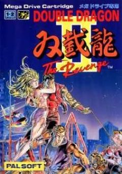 Jaquette de Double Dragon II : The Revenge Megadrive