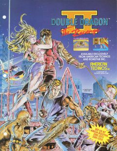 Jaquette de Double Dragon II : The Revenge PC Engine