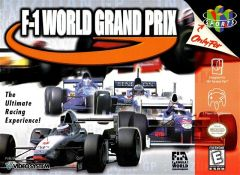 Jaquette de F-1 World Grand Prix Nintendo 64