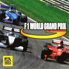 Jaquette de F-1 World Grand Prix Dreamcast