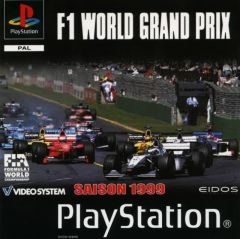 Jaquette de F-1 World Grand Prix PlayStation