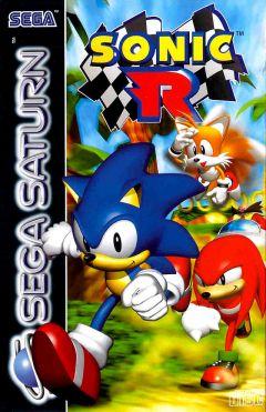 Jaquette de Sonic R Sega Saturn