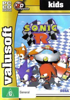 Jaquette de Sonic R PC