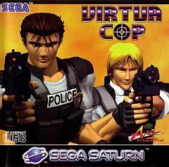 Jaquette de Virtua Cop Sega Saturn