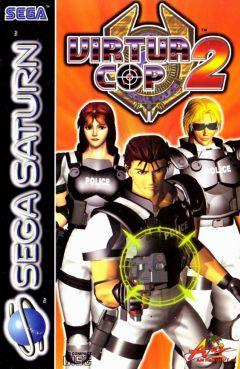 Jaquette de Virtua Cop 2 Sega Saturn