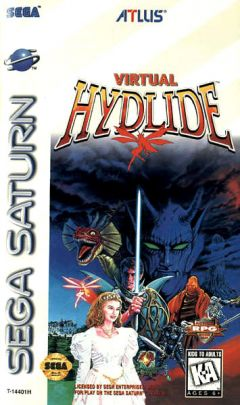 Jaquette de Virtual Hydlide Sega Saturn