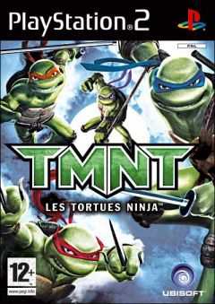 Jaquette de Teenage Mutant Ninja Turtles : Les Tortues Ninja PlayStation 2