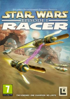 Jaquette de Star Wars Episode 1 : Racer PC