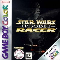 Jaquette de Star Wars Episode 1 : Racer Game Boy Color
