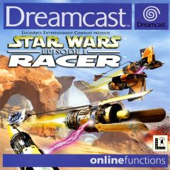 Jaquette de Star Wars Episode 1 : Racer Dreamcast