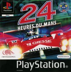 Jaquette de 24 H du Mans PlayStation