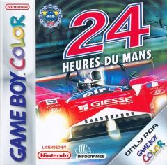 Jaquette de 24 H du Mans Game Boy Color