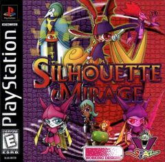 Jaquette de Silhouette Mirage PlayStation