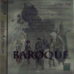 Jaquette de Baroque Sega Saturn