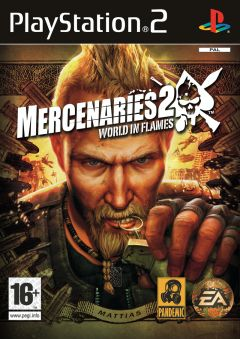 Jaquette de Mercenaries 2 : L'Enfer des Favelas PlayStation 2
