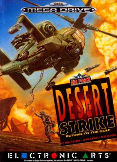 Jaquette de Desert Strike : Return to the Gulf Mega Drive