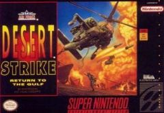 Jaquette de Desert Strike : Return to the Gulf Super NES