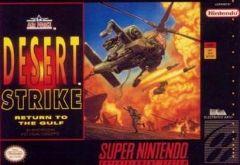 Jaquette de Desert Strike : Return to the Gulf Super NES