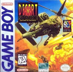 Jaquette de Desert Strike : Return to the Gulf Game Boy