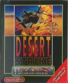 Jaquette de Desert Strike : Return to the Gulf Lynx