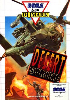 Jaquette de Desert Strike : Return to the Gulf Master System
