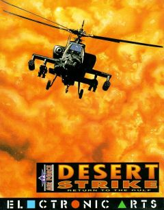 Jaquette de Desert Strike : Return to the Gulf Amiga