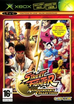 Jaquette de Street Fighter Anniversary Collection Xbox