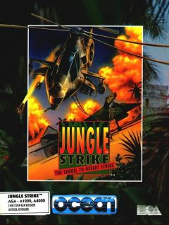Jaquette de Jungle Strike : The Sequel to Desert Strike Amiga