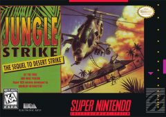 Jaquette de Jungle Strike : The Sequel to Desert Strike Super NES