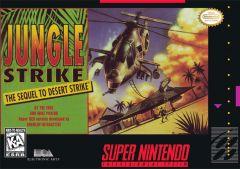 Jaquette de Jungle Strike : The Sequel to Desert Strike Super NES