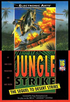 Jaquette de Jungle Strike : The Sequel to Desert Strike Mega Drive