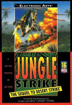 Jaquette de Jungle Strike : The Sequel to Desert Strike Mega Drive