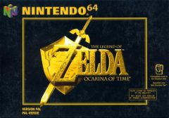 Jaquette de The Legend of Zelda : Ocarina of Time Nintendo 64