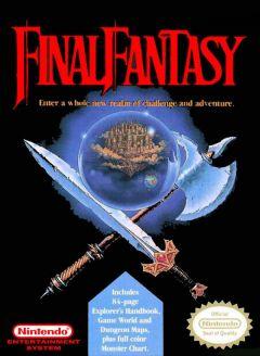 Jaquette de Final Fantasy NES