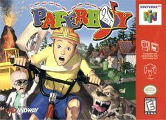 Jaquette de Paperboy Nintendo 64