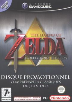 Jaquette de The Legend of Zelda : Collector's Edition GameCube