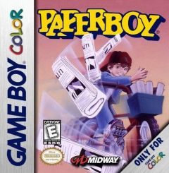 Jaquette de Paperboy Game Boy Color